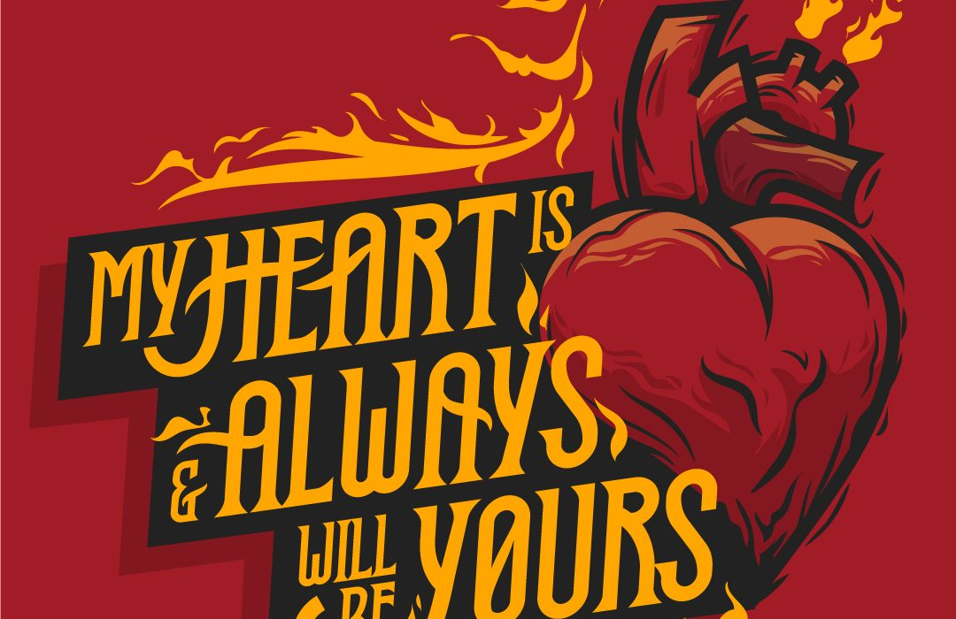 love-heart-fire-corazon-fuego-lettering-ilustracion