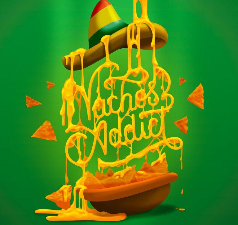 nachos-lettering-ilustracion-gorro-mejicano-queso