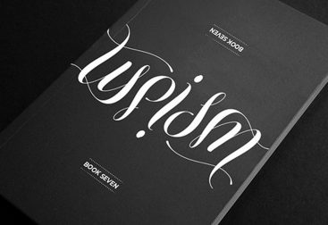 libro typism book 7 lettering